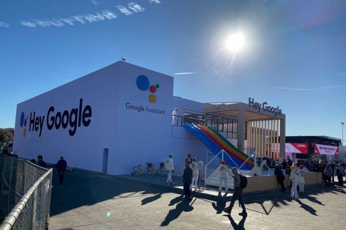 Logo-et-présence-de-Google-Assistant-au-CES-2020-de-Las-Vegas