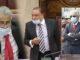 Le deputé Arvin Boolell poursuit sa manifestation devant le Parlement ce mardi